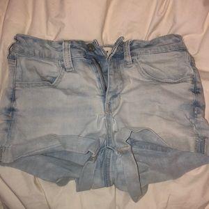Light wash pacsun shorts